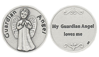 My Guardian Angel Silver Coin