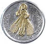 ​Divine Mercy Pocket Coin & Prayer card