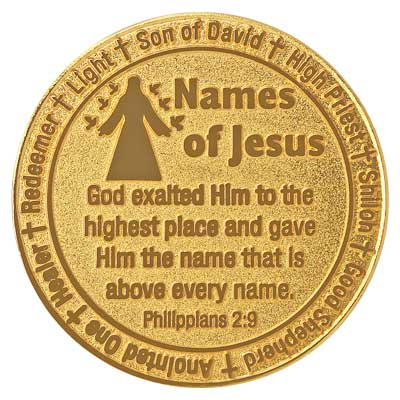 Names of Jesus Coin - Reverse