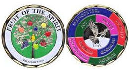 Fruit of the Spirit Deluxe Coin