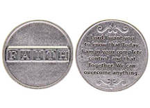 Faith Coin We Can Overcome Anything
