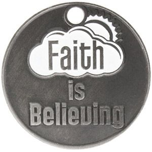 Faith We Can Overcome Anything Coin