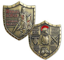 Armor of God  Challenge Coin EPH 6:13-17