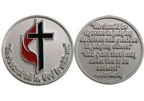 God is With Us United Methodist Coin