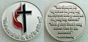 United Methodist Coin -  God is With Us