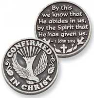 Confirmed in Christ Confirmation Coin