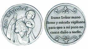 San Cristobal -Spanish Language Coin