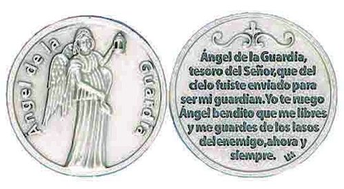 Angel de la Guardia Spanish Angel Coin