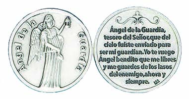 Angel de la Guardia Spanish Angel Coin
