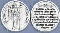 Spanish Coin Guardian Angel Spanish coin token- Angel de la Guardia