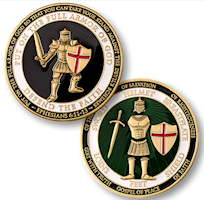 Armor of God Defend of Faith Coin