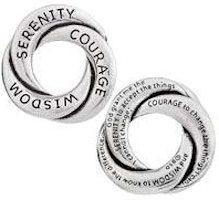 Serenity Prayer Pocket Token, Open Center