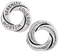 Pocket Token - Serenity Prayer Pewter  Inspirational