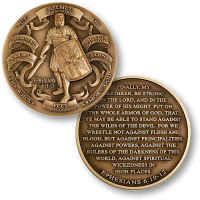 Bronze Armor of God Deluxe Coin