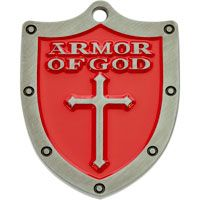 Armor of God Pocket Coin Token Shield Bible Quote