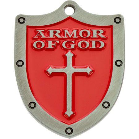 Armor of God Pocket Token Shield Red