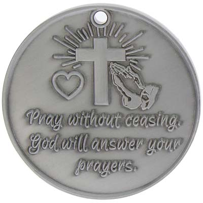 I Will Pray For You That God will Answer Coin