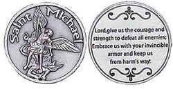 St. Michael Servicemen Coin Protect Us