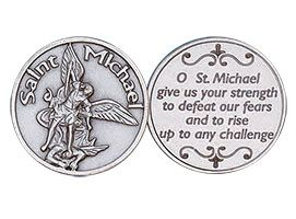 St. Michael The Archangel Coin