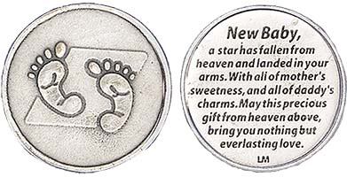 New Baby Coin Precious Gift From Heaven