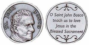 St John Bosco coin