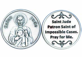 St. Jude Lord Grant Me the Courage Coin Token