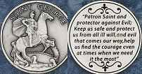 St. George Coin Token Catholic