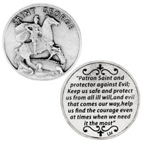 St. George Keep Me Safe Coin
