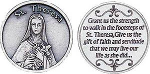 St. Theresa Gift of Faith Coin Token