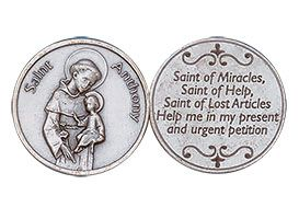 St. Anthony Coin - Saint of Miracles