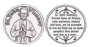 St. John Vianney Saint of Preists Coin