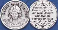St. Florian Fireman Protection Coin