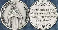 St. Catherine of Sienna Coins Cathollic