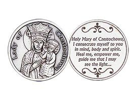 Lady of Czestochowa Heal Me Coin