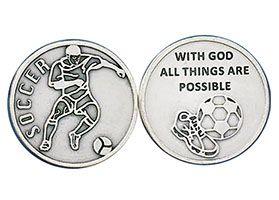 Men's Soccer Sports Coins Tokens