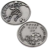 Soccer Sports Coins Tokens