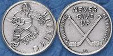 Ice Hockey Coin Champions Never Give Up