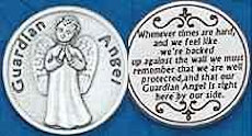 Guardian Angel Hard Times Coins