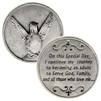 Dove Holy Spirit Coins