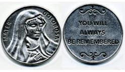 Our Lady of Seven Sorrows Coin -  Mater Dolorosa