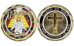 Deluxe Baptised in Christ Coin