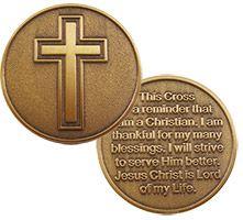 Coins & Tokens: Christian Inspirational & Scripture