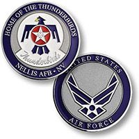 US Air Force Thurnderbirds Challange Coin
