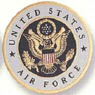 Air Force Medallion Coin Decal