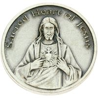 Sacred Heart Jesus is My Heart Coin