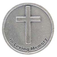 In Loving Memory Rememberance coins