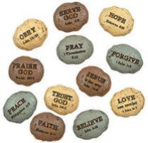 Bible Verse Stones Per Dozen
