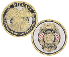 St Michaels Police Deluxe Bronze Coin