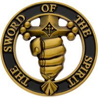 Sword of the Spirit Christian Challenge Coin
