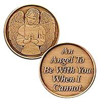 An Angel to Be With You When I Cannot Coins